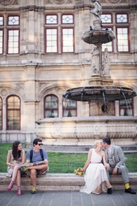 urban wedding in vienna | www.hochzeitshummel.at | photo: peachesandmint.com